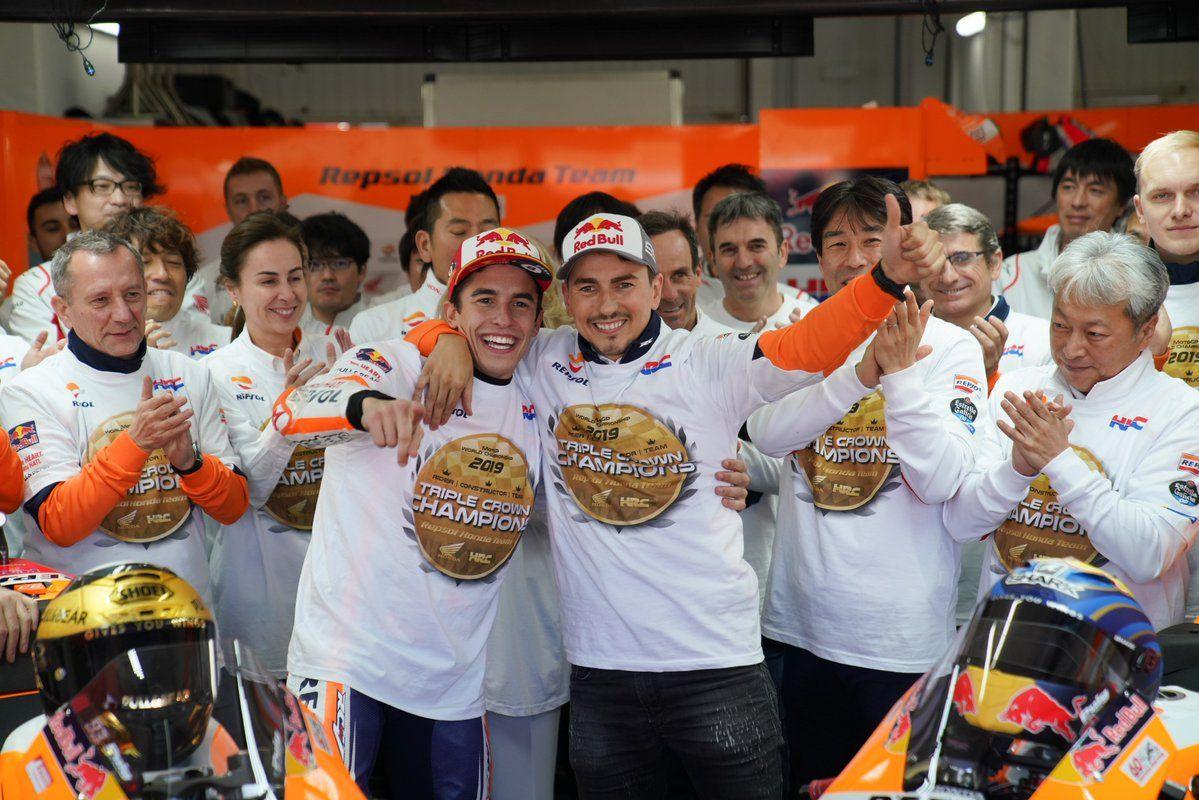 Triunfo de Marc Márquez en el GP de la Comunitat Valenciana de MotoGP