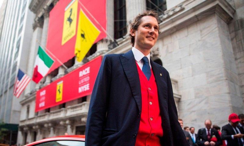 "John Elkann: ""Ferrari no es competitivo en este momento"""