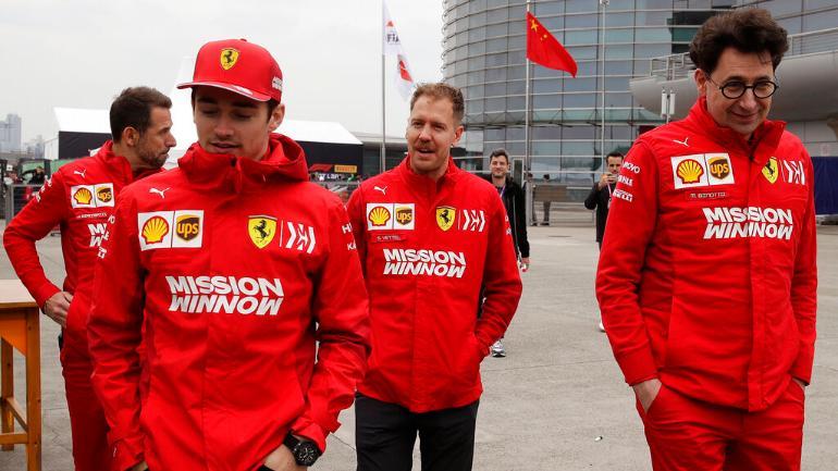 "Ferrari asegura ""paz"" entre sus pilotos luego de Brasil"