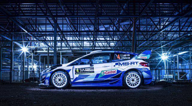 OFICIAL: M-Sport presenta el nuevo Ford Fiesta RS WRC 2020
