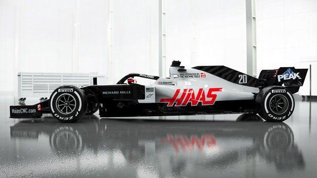 Haas sorprende revelando imágenes de su monoplaza 2020