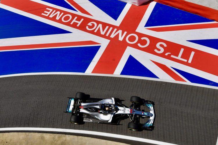 Optimismo en la celebración del GP de Gran Bretaña 2020