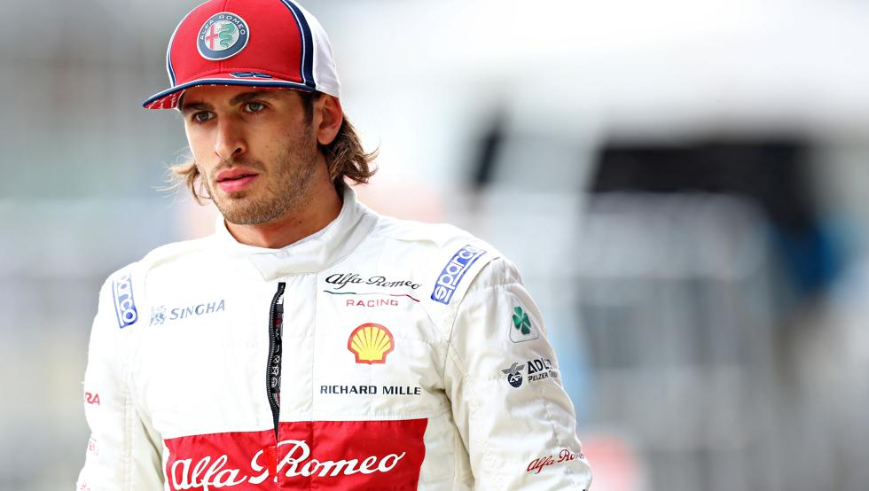 """Giovinazzi: """"Mi sueño para 2020 es poder llevar a Alfa Romeo de vuelta al podio en la F1"""""""
