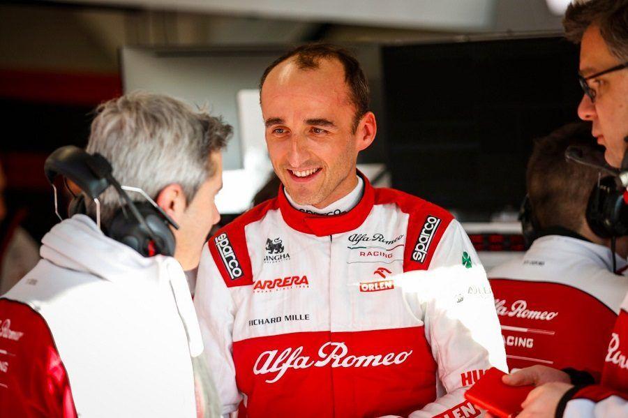 Robert Kubica disputará los Libres 1 del GP de España con Alfa Romeo