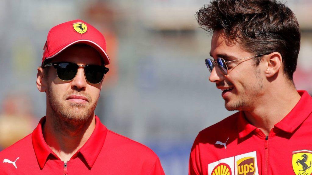 "Leclerc ""Nunca aprendí tanto como aprendí contigo. Gracias por todo Seb"""