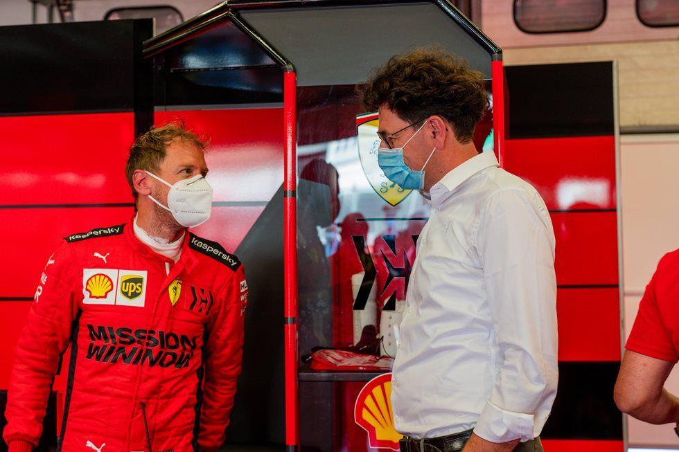 Ferrari vuelve a la actividad con un test en Mugello