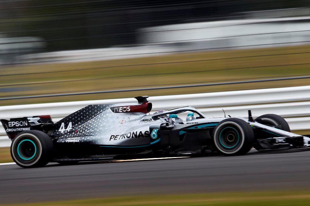 Mercedes sufrió para adelantar en Monza debido a las especificaciones del trazado