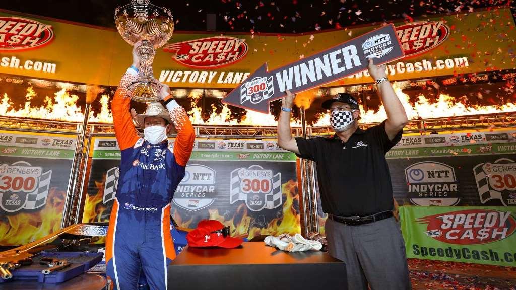 Triunfo de Scott Dixon en la primera cita de la IndyCar 2020 en Texas