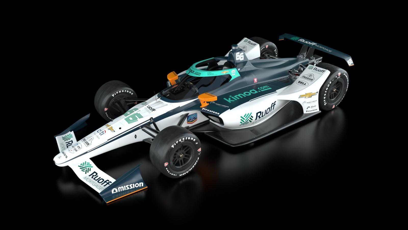 McLaren SP presenta el coche con el que Alonso disputará la Indy500