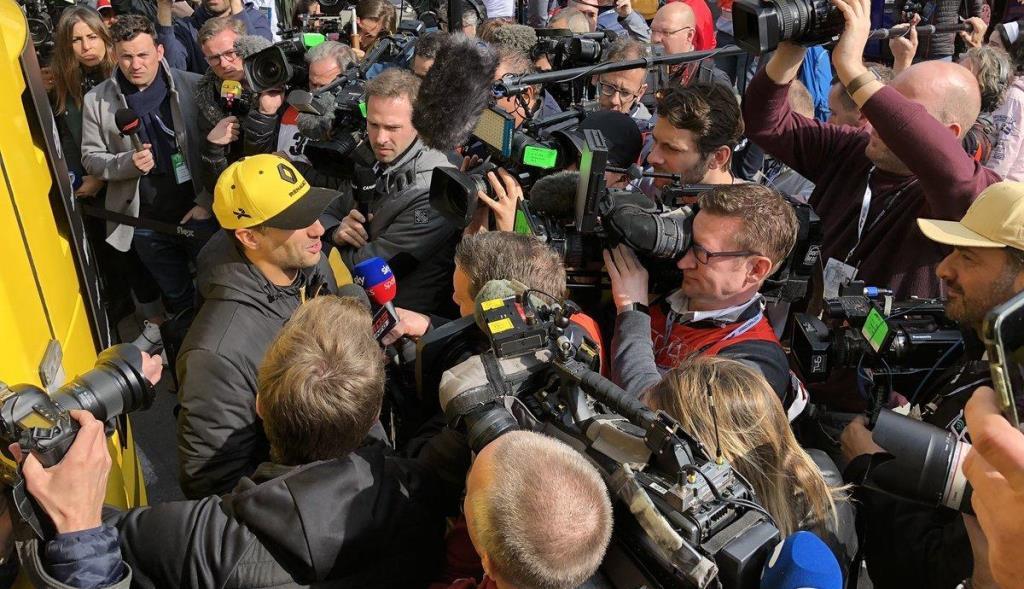 Sólo 10 periodistas asistirán a las primeras ocho carreras de F1