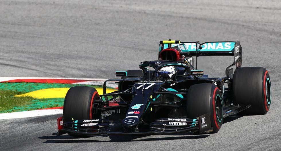 ¡Valtteri Bottas gana el GP de Austria! Charles Leclerc 2° y Lando Norris 3°