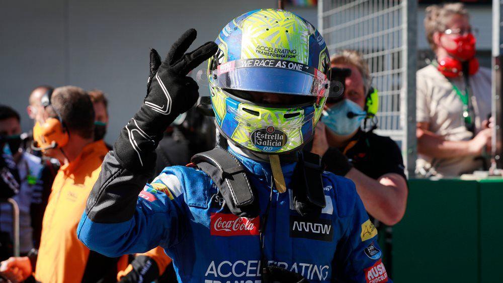 """Lando Norris consigue su primero podio en F1: """"Estoy sin palabras"""""""