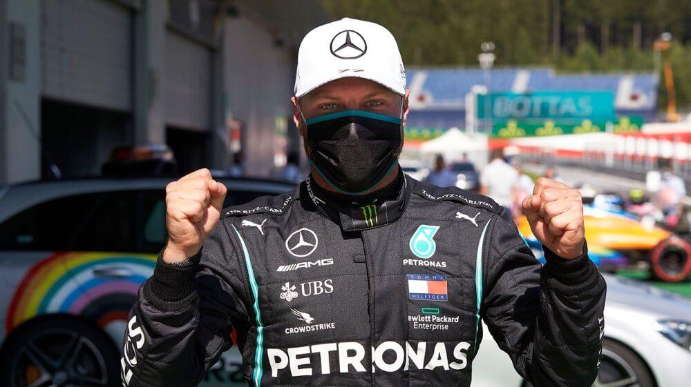 OFICIAL: Valtteri Bottas renueva con Mercedes por un año más