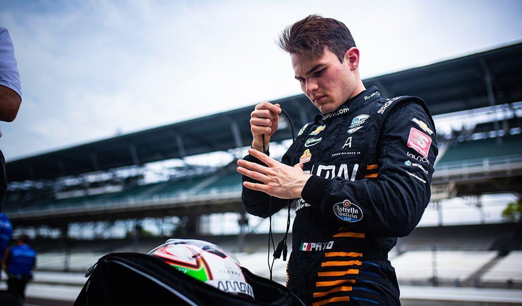 Patricio O'Ward satisfecho con el 6° puesto en la Indy 500