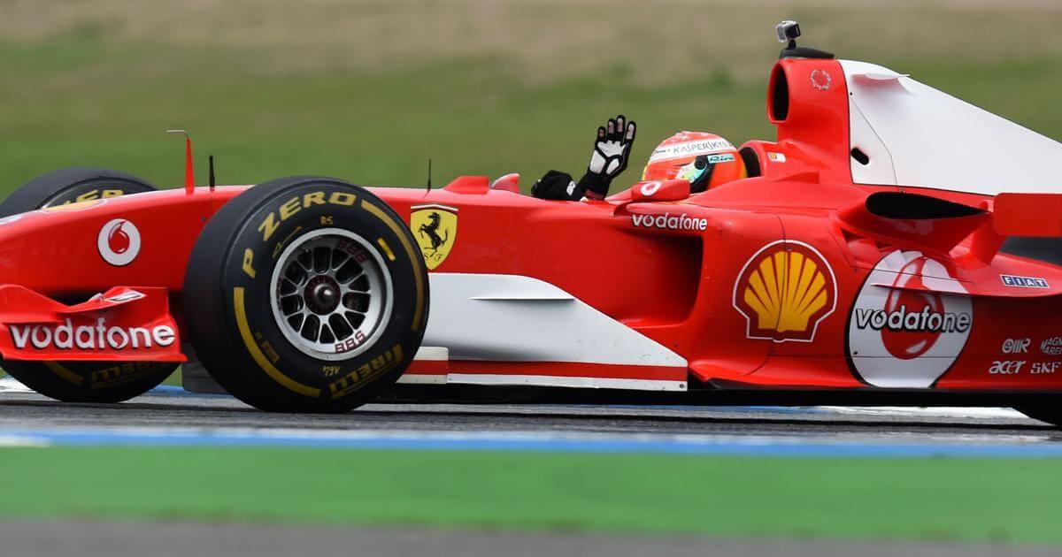 Mick Schumacher conducirá el Ferrari F2004 en el Circuito de Mugello