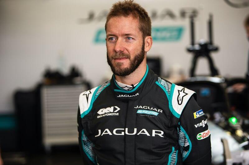 Sam Bird completó su primera prueba con Jaguar Racing en Abingdon