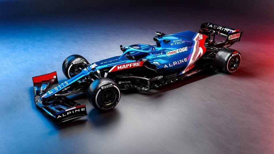 Alpine F1 Team presentó su monoplaza para 2021; el A521