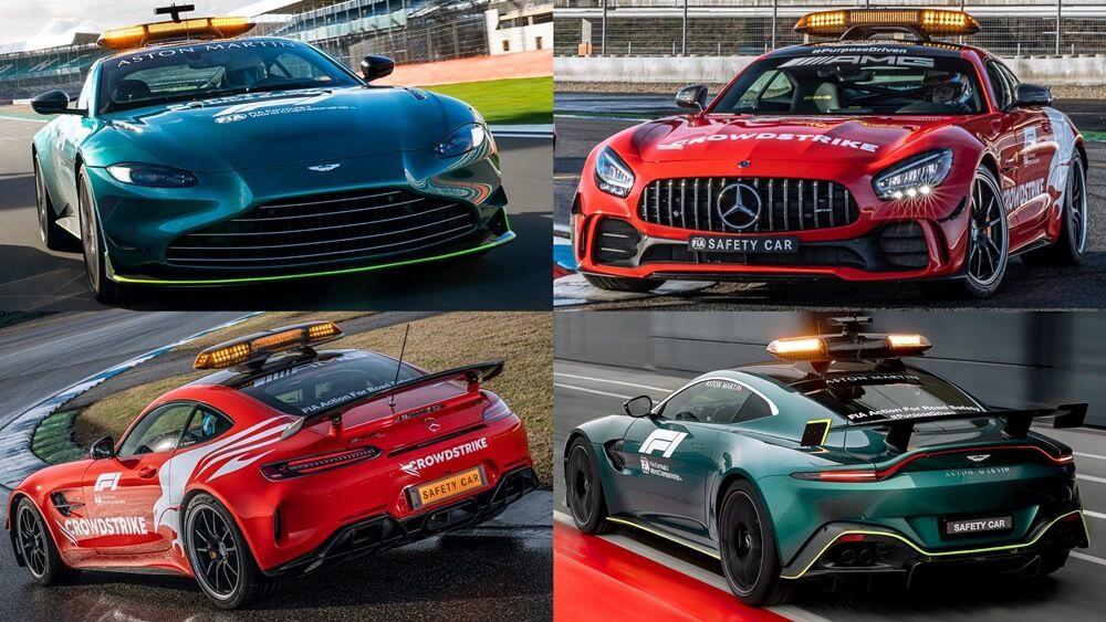 Aston Martin y Mercedes suministrarán el Safety Car en la Fórmula 1