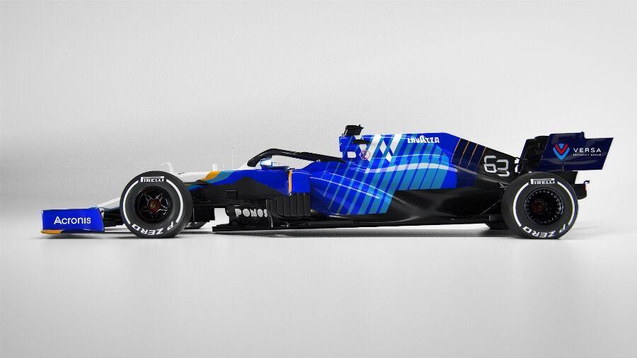 Williams Racing presenta su monoplaza para la temporada 2021 de F1; el renovado FW43B