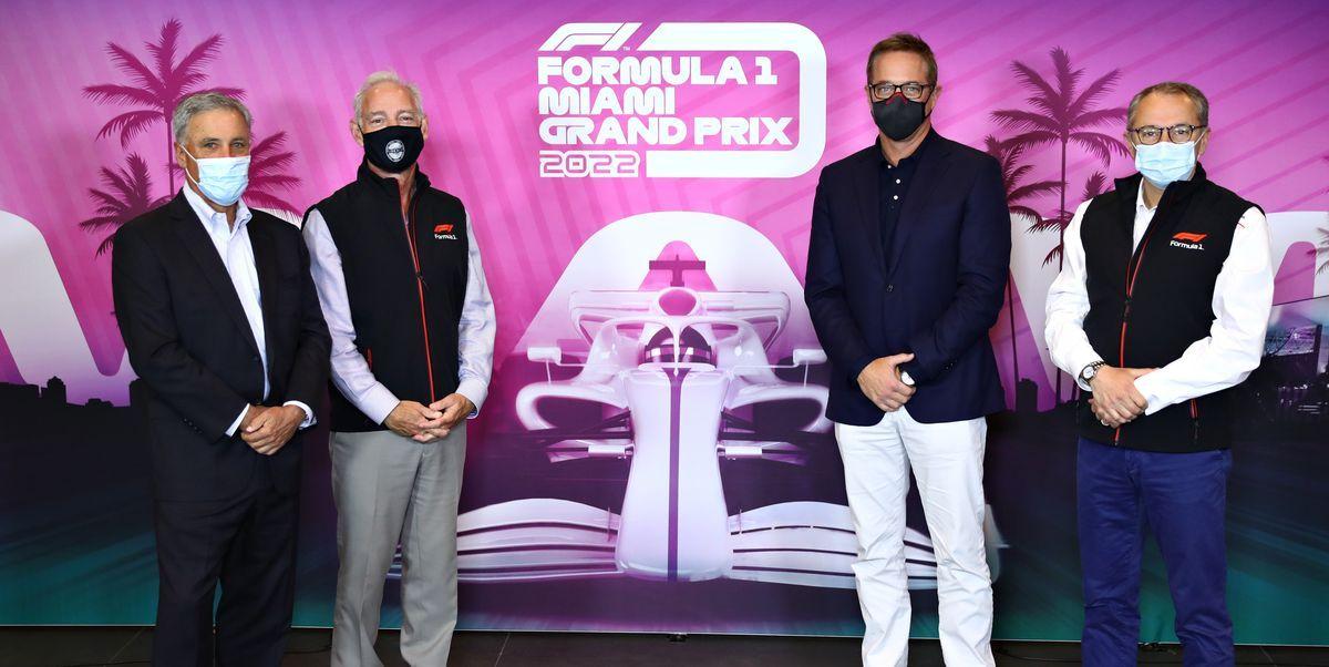 Se confirma la fecha del primer Gran Premio de Miami para 2022
