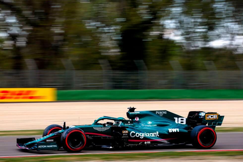 Lance Stroll excedió el límite de velocidad en el pit lane; Aston Martin recibe una multa de 600 euros