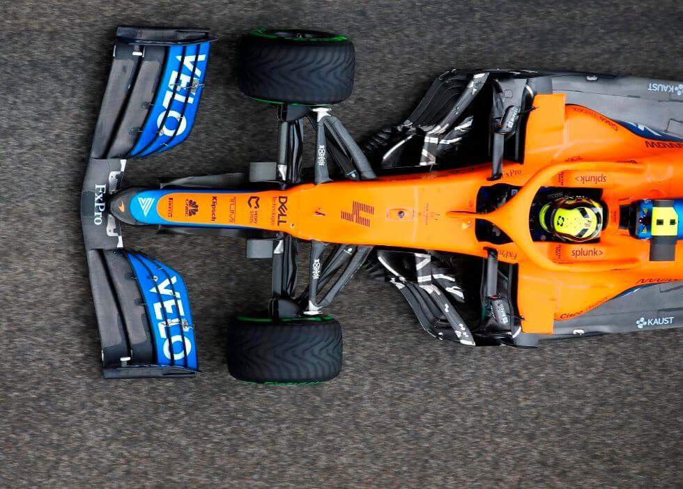 """Lando Norris sobre su 3° puesto en el GP de Emilia-Romagna: """"Estoy contento"""""""