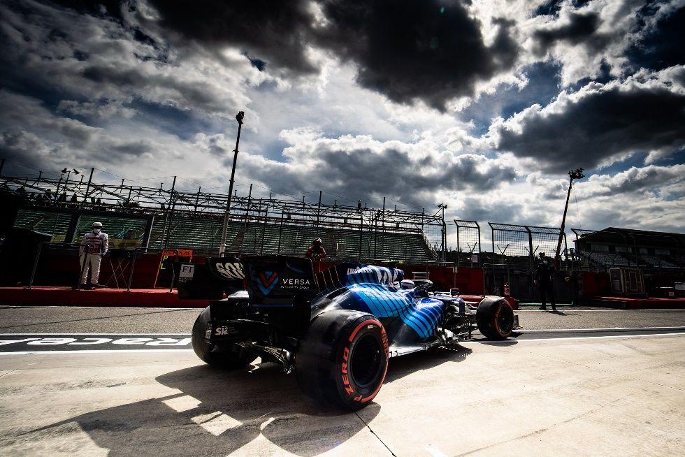 Williams sorprende en la clasificación del GP de Emilia-Romagna pasando con ambos autos a la Q2