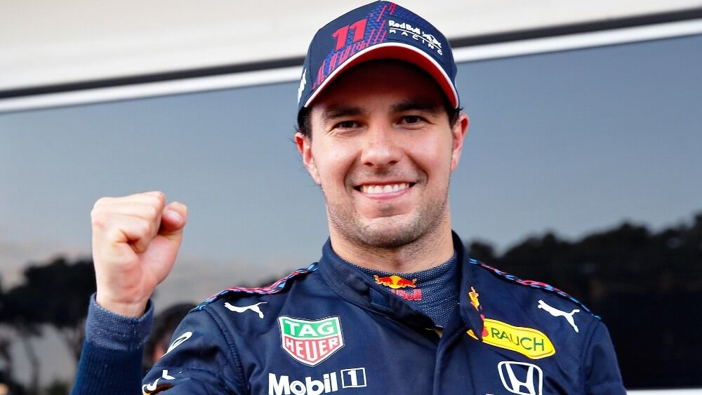 "¡Sergio Pérez logra su primera victoria con Red Bull: ""Estoy muy contento"""