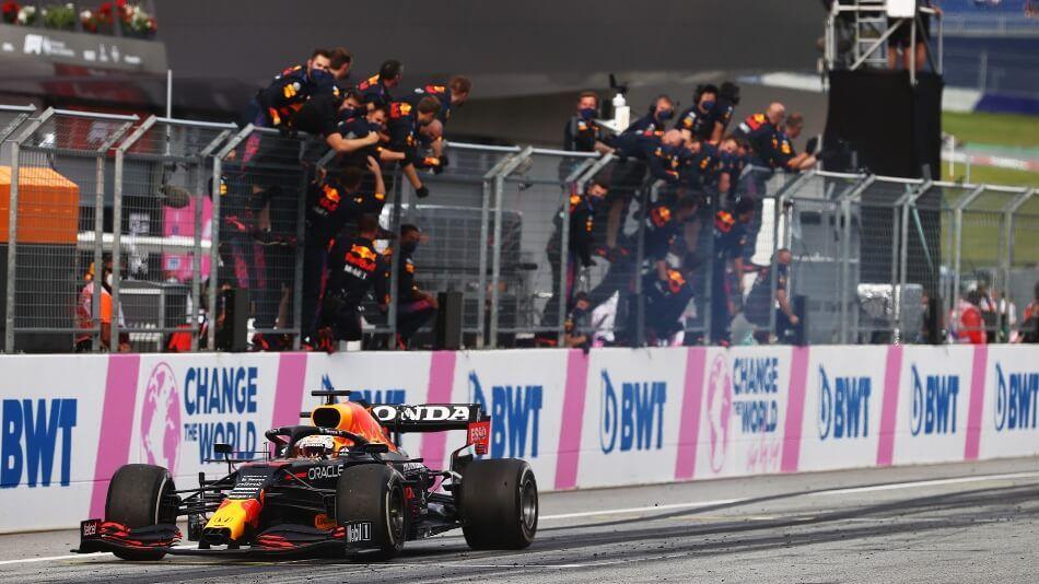 La FIA no tolerará celebraciones como la de Max Verstappen en el GP de Estiria