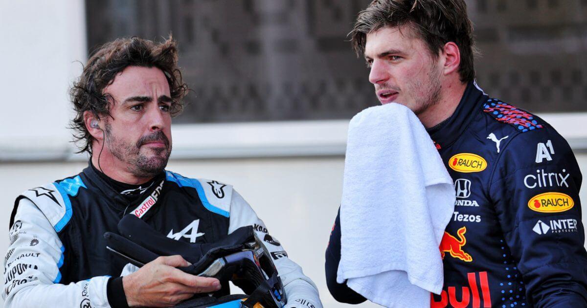 """Alonso comprende lo que está viviendo Verstappen: """"No es británico, así que siempre será más difícil para él"""""""