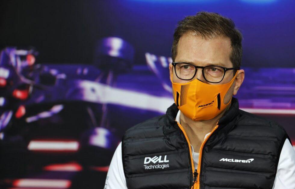Andreas Seidl reconoce que es poco probable mantener el 3er puesto de Lando Norris en el Mundial de Pilotos