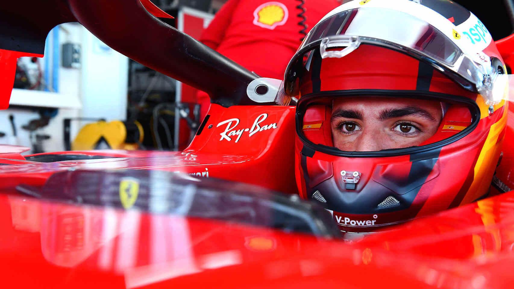 """Carlos Sainz: """"Estoy teniendo el mejor año de mi vida en Ferrari, no me arrepiento de no estar en McLaren"""""""