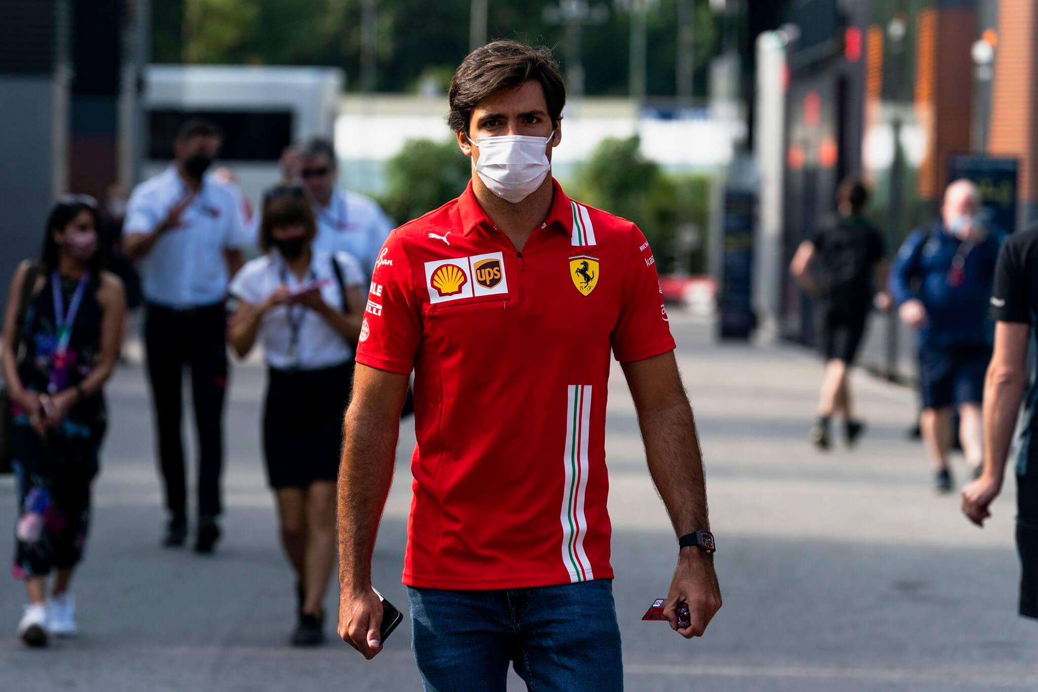 """Carlos Sainz: """"Subir al podio en Monza sería precioso, pero sinceramente ya estamos pensando en el año que viene"""""""
