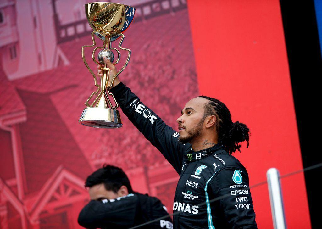 """¡Lewis Hamilton vuelve a hacer en la F1! """"Me ha tomado mucho tiempo llegar a las cien victorias"""""""