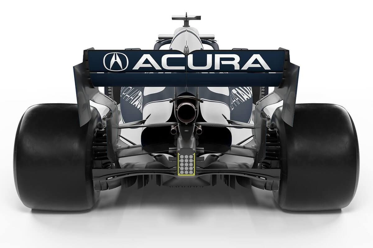 ¡Acura regresa a la F1! Los monoplazas de Red Bull y AlphaTauri lucirán el logo este fin de semana en Austin