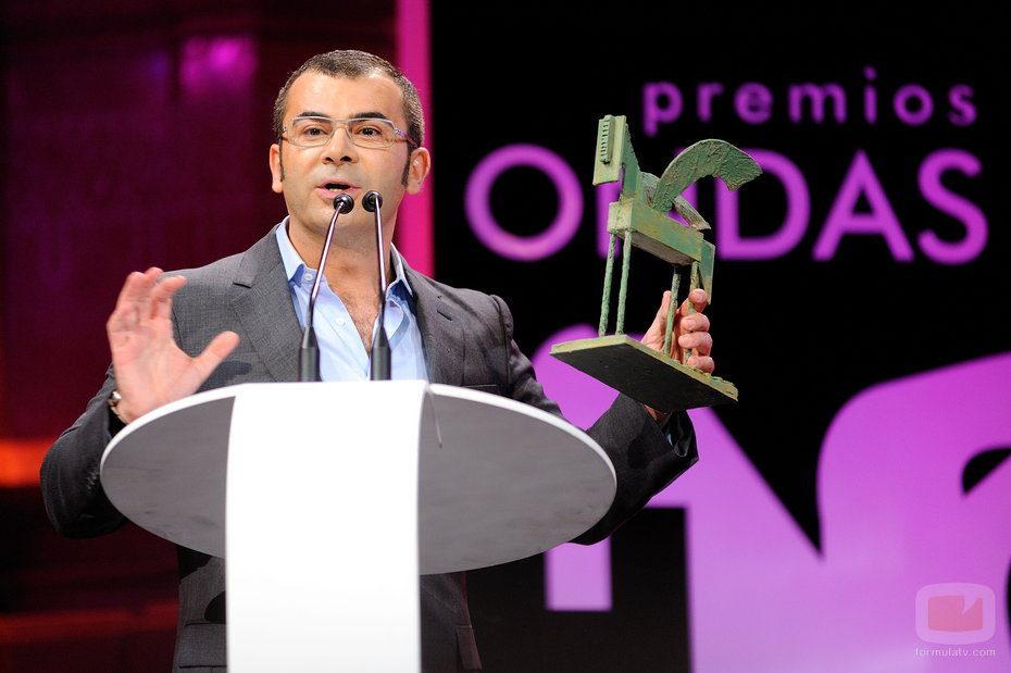 Jorge Javier Vázquez en los Ondas