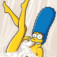 Fotos sexys de Marge Simpson en Playboy
