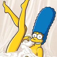 Fotos sexys de Marge Simpson en Playboy