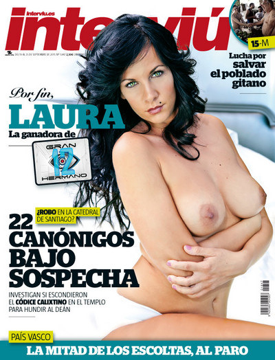 Laura Campos Ganadora De Gran Hermano 12 Desnuda En Interviú