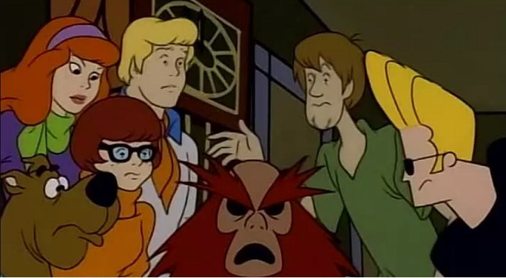 Jhonny Bravo y la pandilla de 'Scooby Doo'