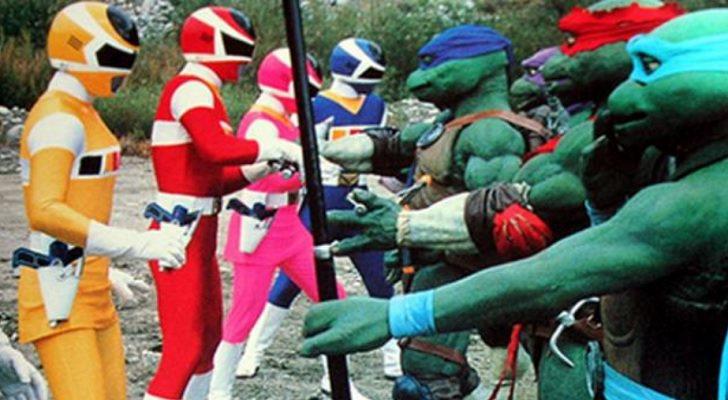 'Power Rangers' y 'Las tortugas ninja'