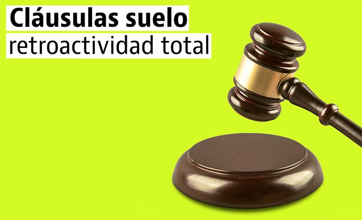 DESDE 21 DE ENERO YA PUEDE RECLAMAR LA CLÁUSULA SUELO