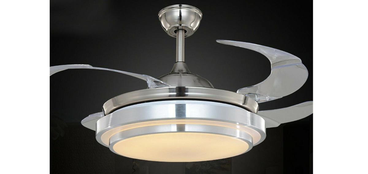Ventilatore a soffitto 5 pale da parete con luce lampadario e telecomando vinco. Www Fornitureaziendali It