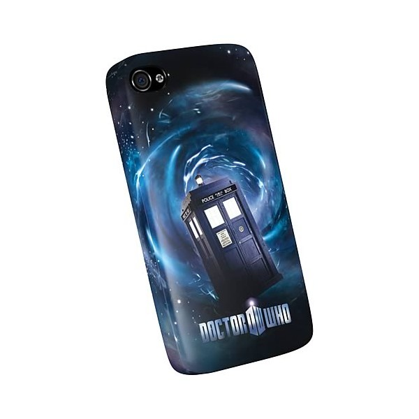 coque tardis doctor who officielle pour iphone 4 4s