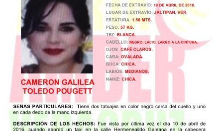 Activan Alerta Amber por desaparición de menor de 16 años, en Jáltipan