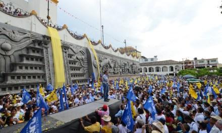 Lo único que llevaron los gobiernos del PRI a las zonas indígenas fue más pobreza y abandono: Miguel Ángel Yunes Linares