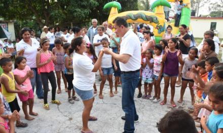 """El """"Pipo"""" Vázquez baila, juega, canta y asume compromiso con la naturaleza"""