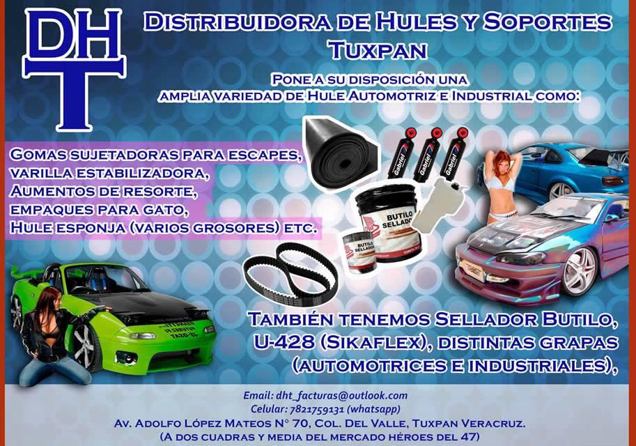 Distribuidora de Hules y Soportes Tuxpan
