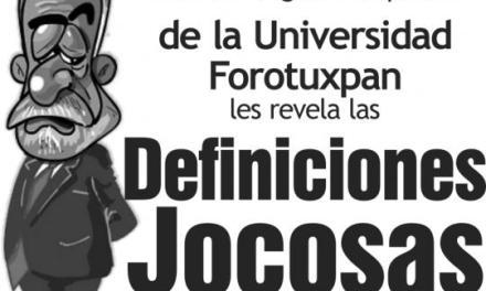 DEFINICIONES JOCOSAS (CON LA LETRA A)