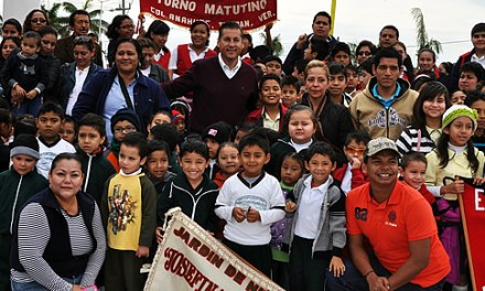 Mas de 25 toneladas de víveres envían los tuxpeños a los tarahumaras de Chihuahua